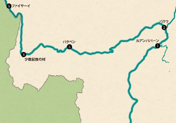 ルアンサイクルーズマップ